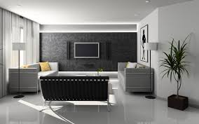 Design Idea Living Room- Grey and Metallic