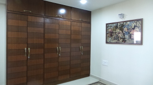 Teak is the trend for ever in wardrobes any day!