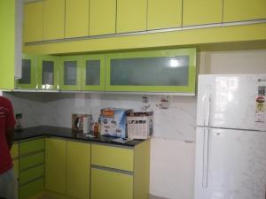 Full view of Modern Yello Kitchen