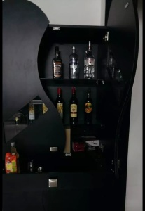 Finished look of the above Bar unit