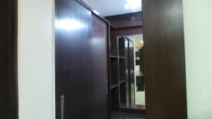 Powder room attache d to master bed room