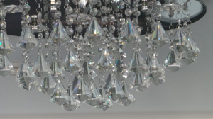 Crystals on the cieling