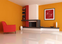 Idea 14- More idea in living room with color walls