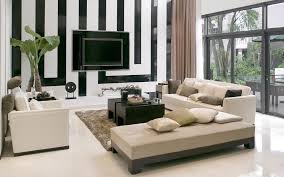 Idea 7- Living Room- Brown and black