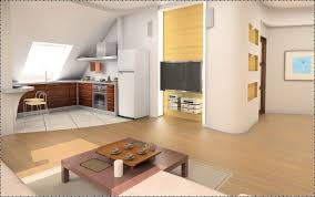 Kitchen, Living compact Interiors
