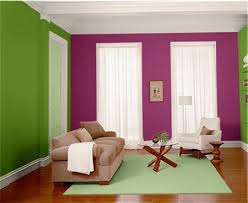 Idea9- Simple contrast colors on the walls