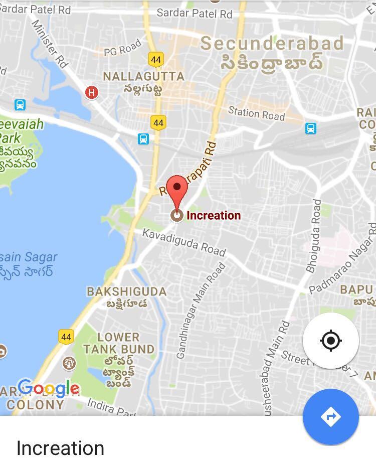 Increation Location